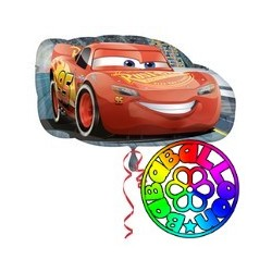 Palloncino foil supershape Cars conf. 1 pz.