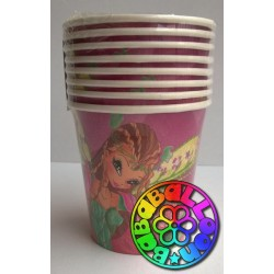 Bicchiere plastica Winx