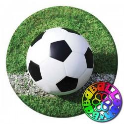 Calcio fanatic soccer piatto 23 cm 8 pz.