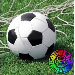 Calcio fanatic soccer tovagliolo 33x33 cm 18 pz.