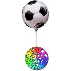 """Calcio fanatic soccer pallone foil minishape 9"""" - 23 cm si gonfia ad aria"""