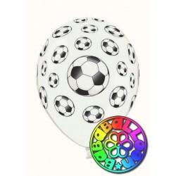 """Calcio fanatic soccer pallone lattice 12"""" - 30 cm 10 pz."""