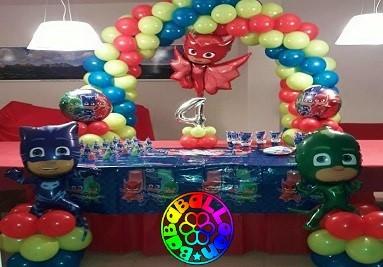 pj mask party - coordinato tema