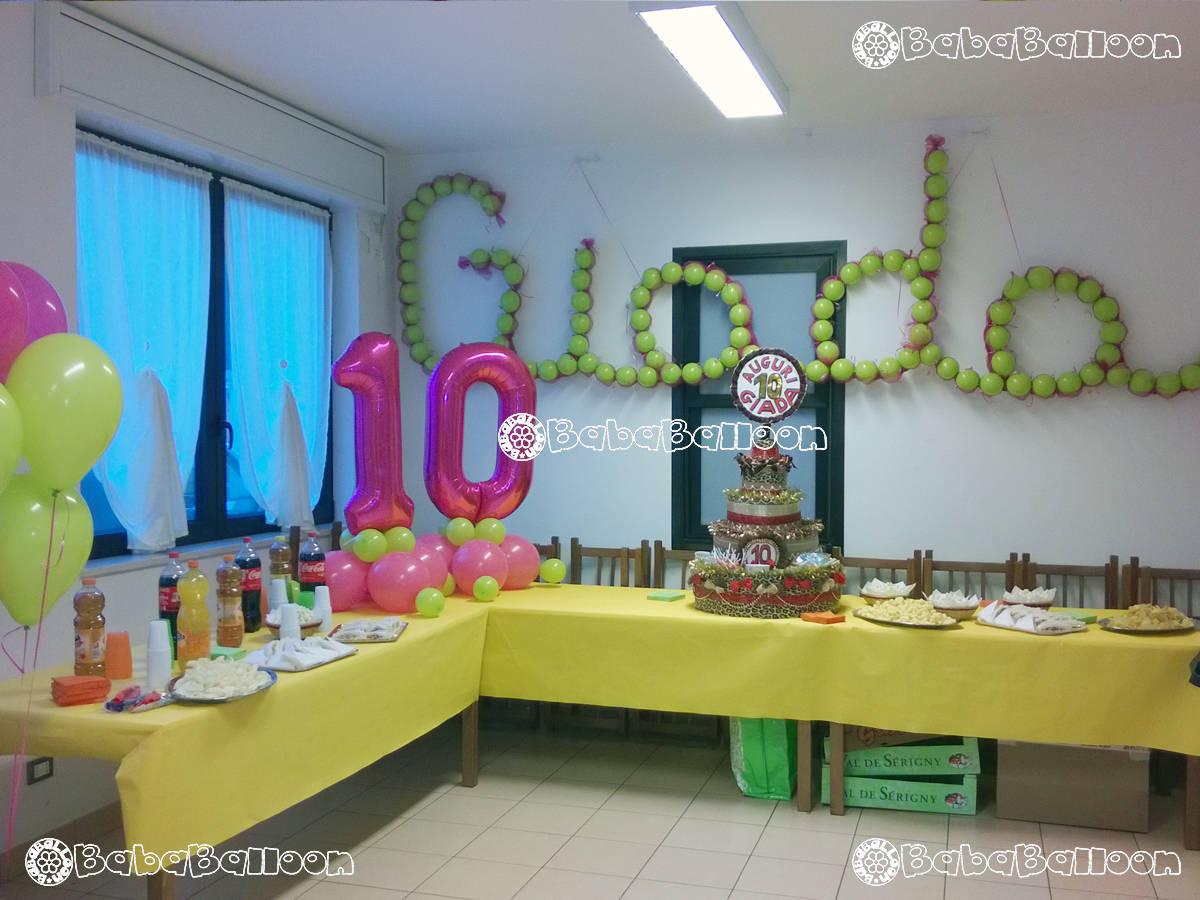 Allestimenti di palloncini per compleanni bababalloon for Feste compleanno bambini decorazioni