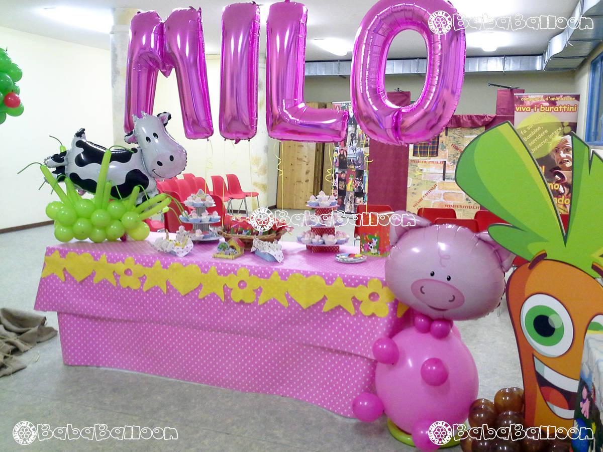 Allestimenti di palloncini per compleanni bababalloon for Addobbi per feste in piscina