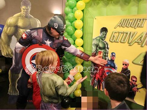 Animazione per feste di compleanno a Vicenza e provincia, con super eroi e personaggi