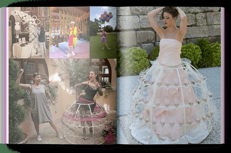 Bababalloon Party Planner a Vicenza - per le tue feste realizziamo fantastiche animazioni, giochi e trucca bimbi con servizio di champagne dress