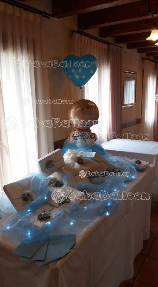 Allestimento tavolo per battesimo th44 pineglen - Addobbi tavolo battesimo ...